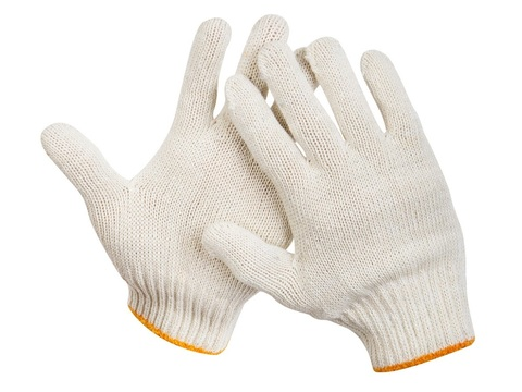 STAYER STANDARD, размер L-XL, перчатки рабочие для тяжелых работ без покрытия, х/б 7 класс