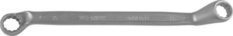 ORW0809 Ключ гаечный накидной изогнутый 75°, 8x9 мм