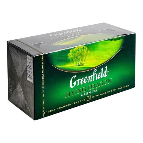 Чай GREENFIELD Зеленый Flying Dragon 25*2 гр п/пак РОССИЯ