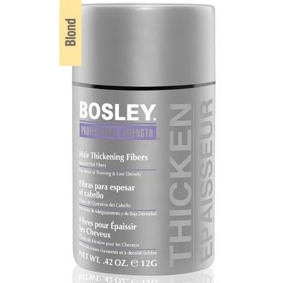 Bosley PRO Кератиновые волокна: Кератиновые волокна - блондин (Hair Thickening Fibers - Blond), 12г