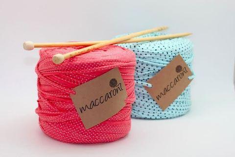Интерьерная пряжа Maccaroni T-SHIRT Color Dot