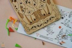 Птеродактиль UNIT (UNIWOOD) - Деревянный конструктор, 3D пазл, сборная модель