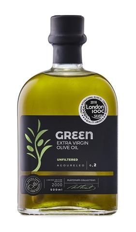 Нефильтрованное  оливковое масло первого холодного отжима Агурелио  Attica Food 500 мл