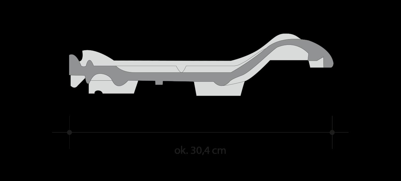 Керамическая черепица MONZA Plus, ROBEN