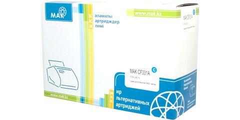 Картридж лазерный цветной MAK© 654A CF331A голубой (cyan), до 15000 стр. - купить в компании MAKtorg