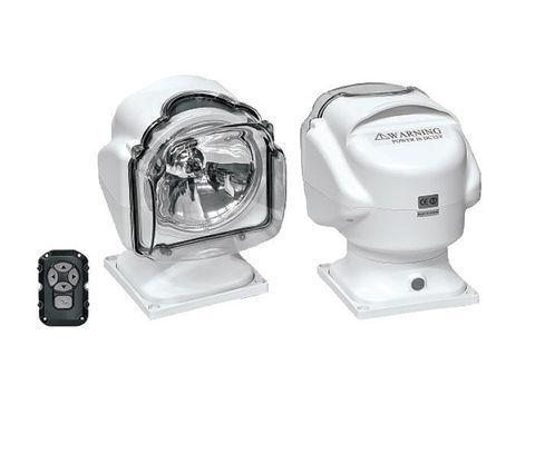 Прожектор стационарный ксеноновый, с проводным пультом ДУ, белый (серия 971)