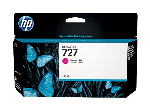 Оригинальный картридж струйный HP B3P20A (№727) пурпурный