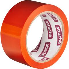 Скотч клейкая лента упаковочная Attache оранжевая 48 мм x 66 м толщина 45 мкм