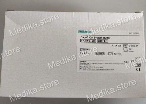 10873440 Буфер для системы Dade CA (Dade CA System Buffer), 8 x 250 ml - Siemens Healthcare Diagnostics Products GmbH