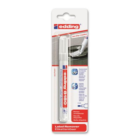 Маркер для снятия этикеток Edding E-8180/1 бесцветный (толщина линии 4 мм)