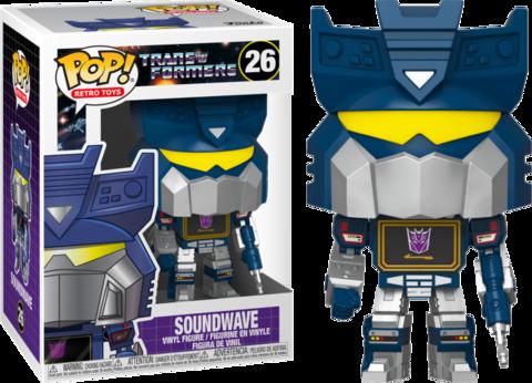 Фигурка Funko Pop! Retro Toys: Transformers - Soundwave