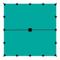 Тент Tramp 6*6м , зеленый