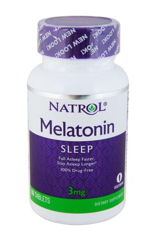 Natrol Мелатонин 3мг