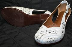 Летние туфли Marani Magli 031 405 White.