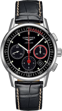 The Longines Heritage Column Wheel Chronograph Record