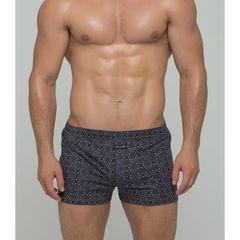 Мужские трусы-шорты серые с притом Salvador Dali SD3305-2