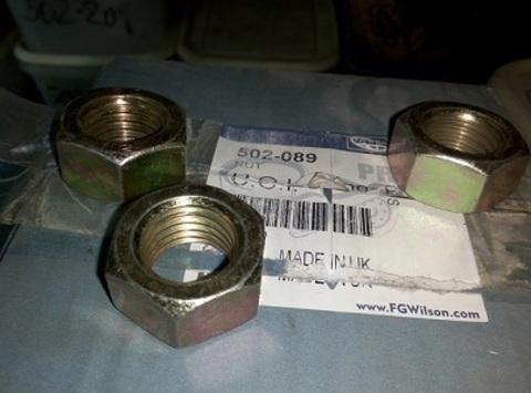 Гайка крепления выхлопной системы / NUT PLAIN M20 АРТ: 502-089