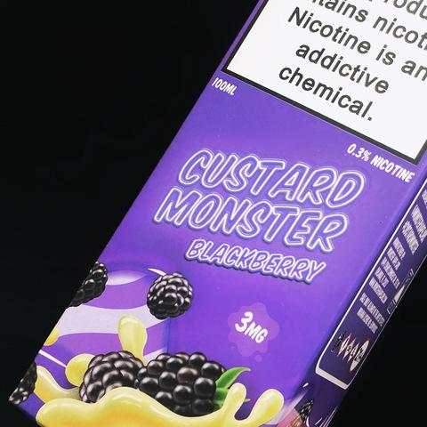Blackberry Custard Monster