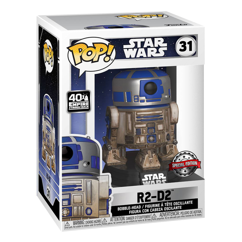 Фигурка Funko POP! Bobble Star Wars SW Dagobah R2-D2 (Exc) 49810