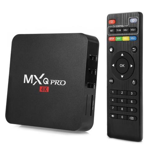 Смарт Тв приставка Android MXQ-4K TV Box