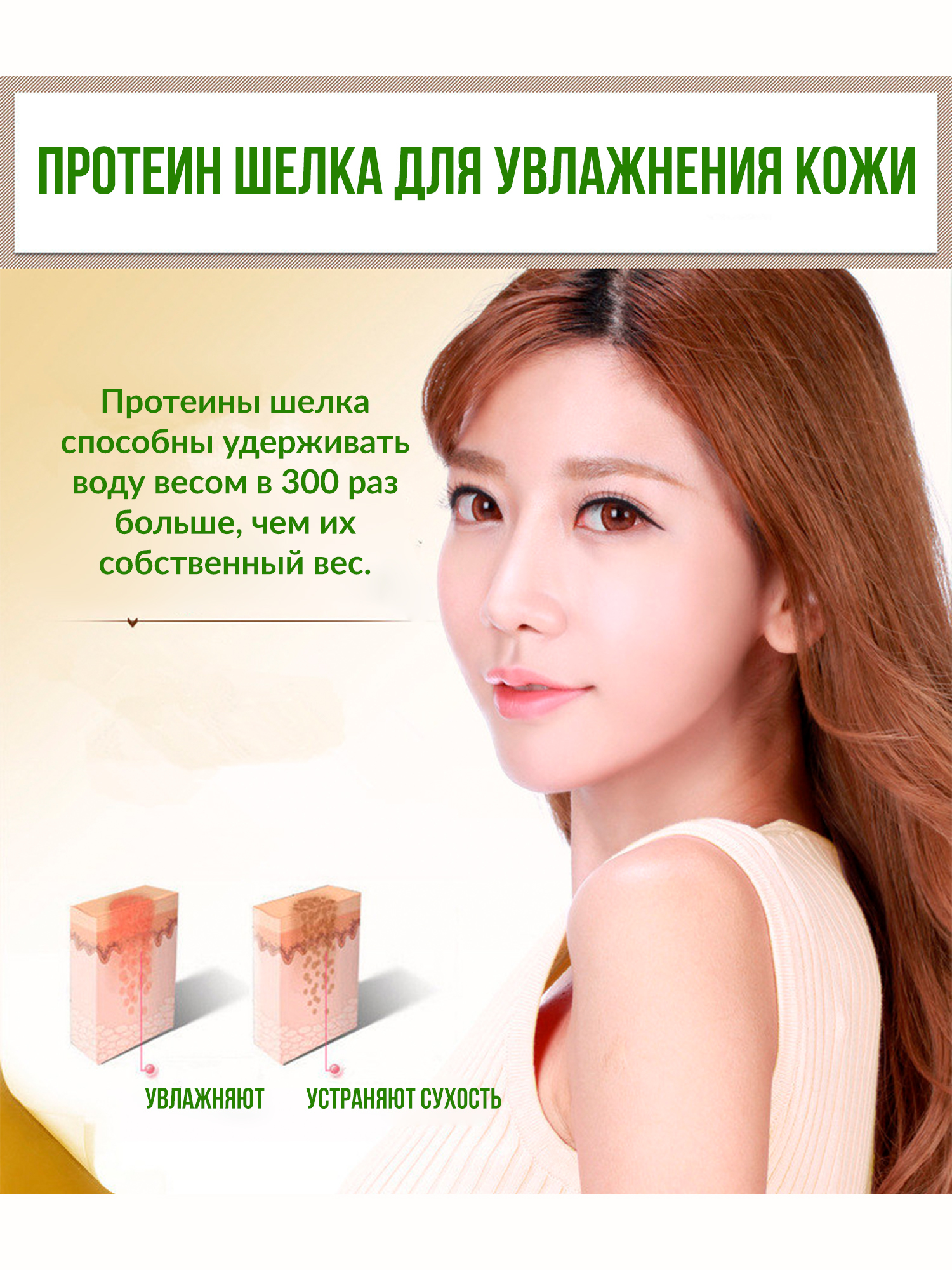 Сыворотка с шелком Silk Protein, 60мл