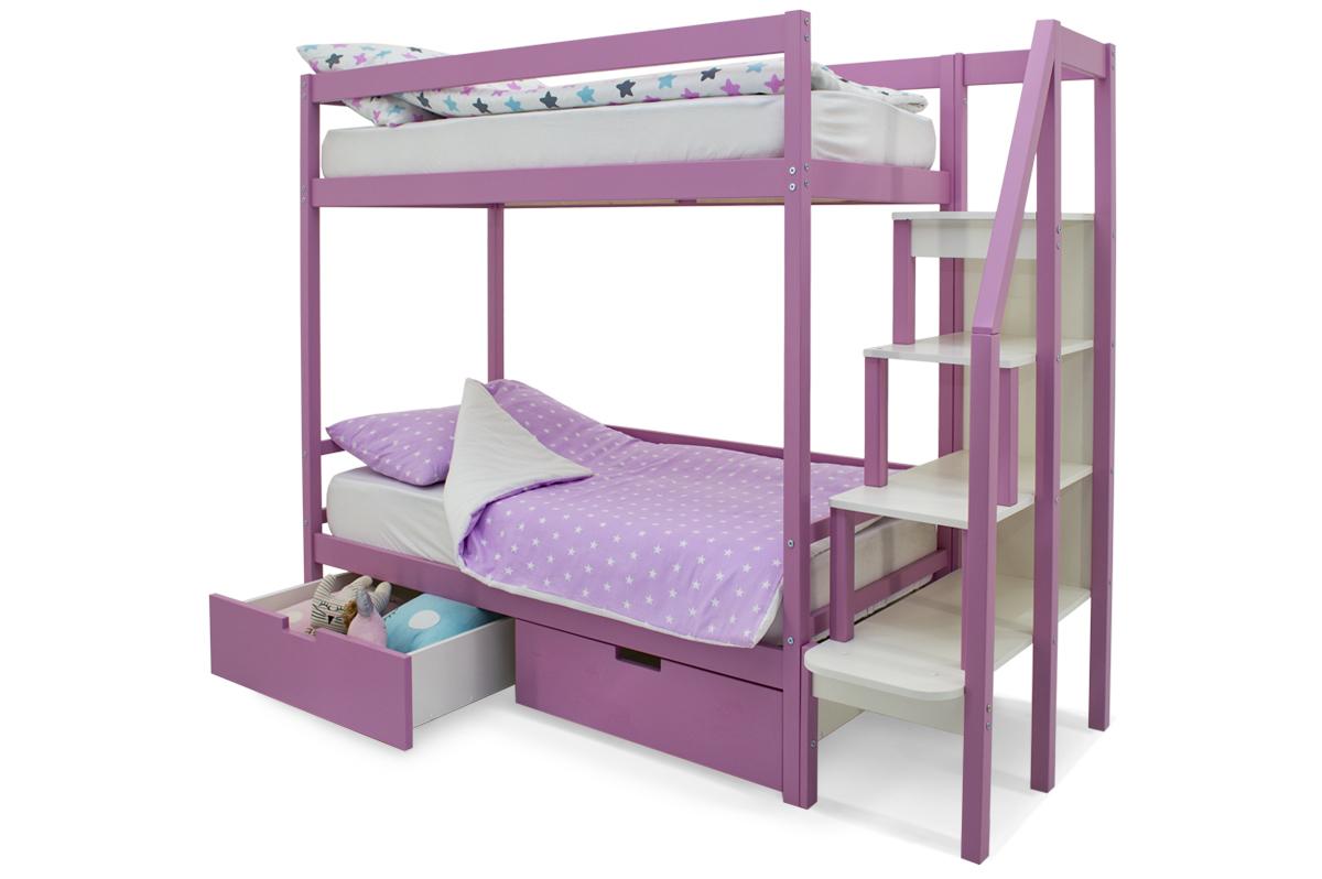 Двухъярусная кровать «Svogen» лаванда