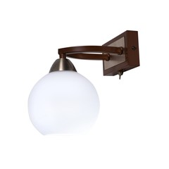 INL-9268W-01 Antique brass & Walnut