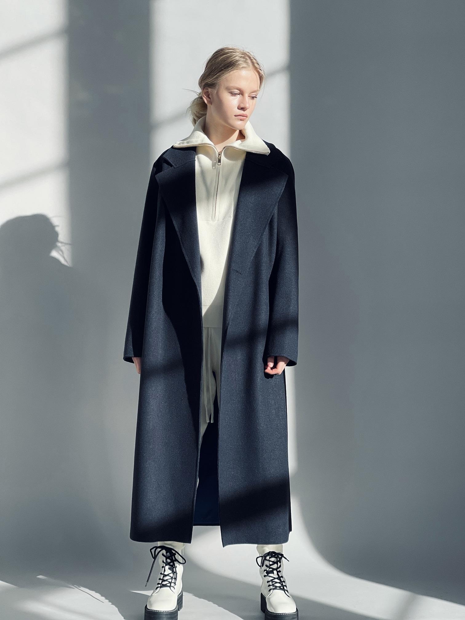 Пальто, QUARKS, ANN (цвет ночи )