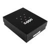 Зажигалка Zippo №205 Footprints с покрытием Satin Chrome™, латунь/сталь, серебристая, матовая