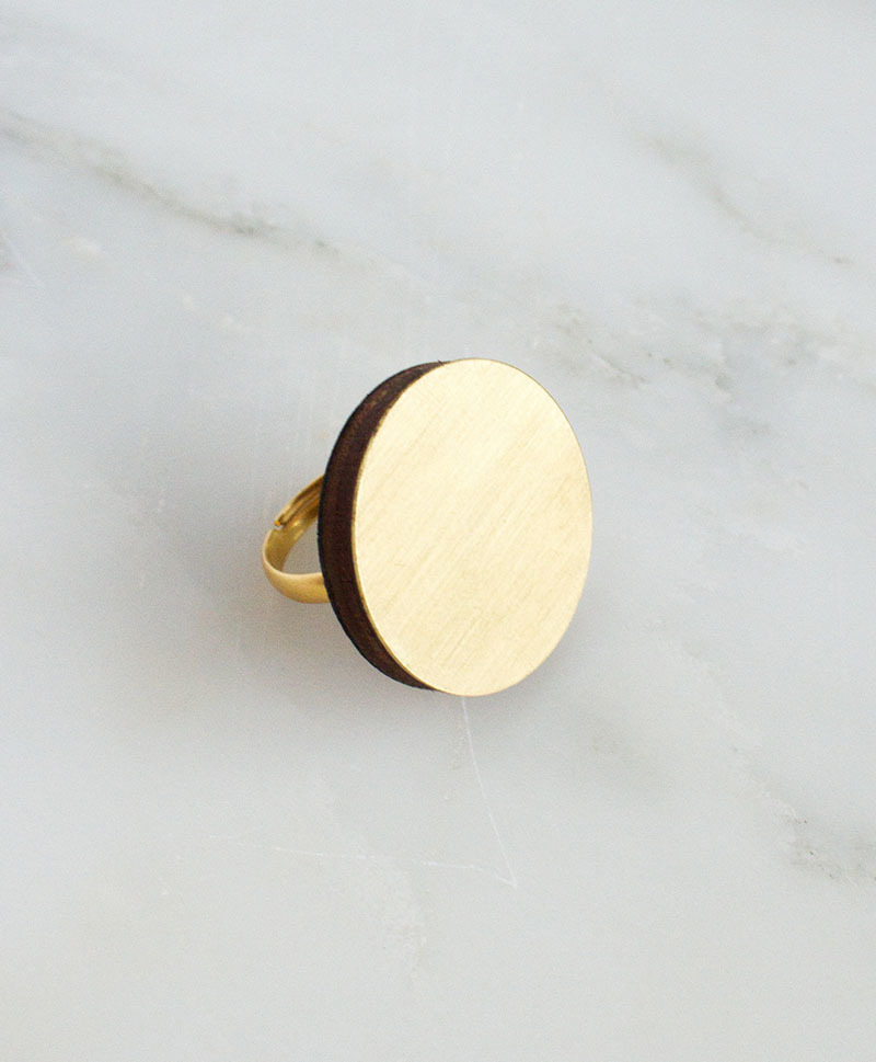 Кольцо Eclipse Brass