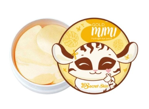 Gold mimi hydrogel eye patch
