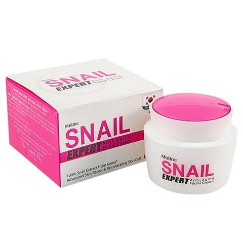 Крем для лица со слизью улитки Snail cream от Mistine (Таиланд), 40 гр.