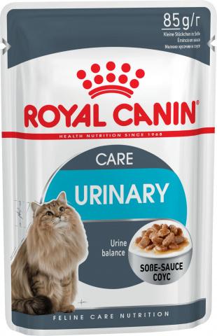 Royal Canin Роял Канин влажный 85г для кошек Уринари кэа в соусе