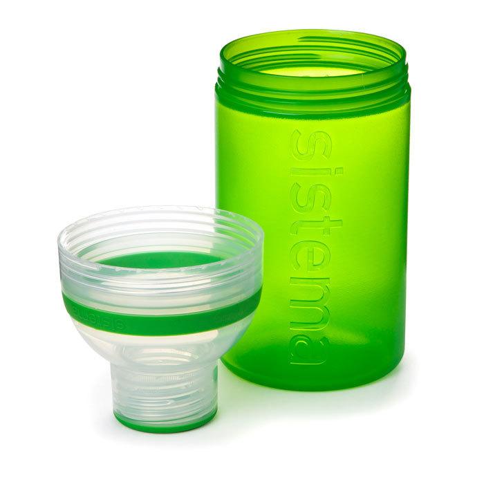 """Бутылка для воды Sistema """"Hydrate"""" 480 мл, цвет Зеленый"""