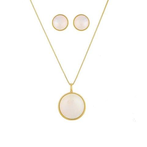 Комплект pearl opaline S1565.1 BW/G