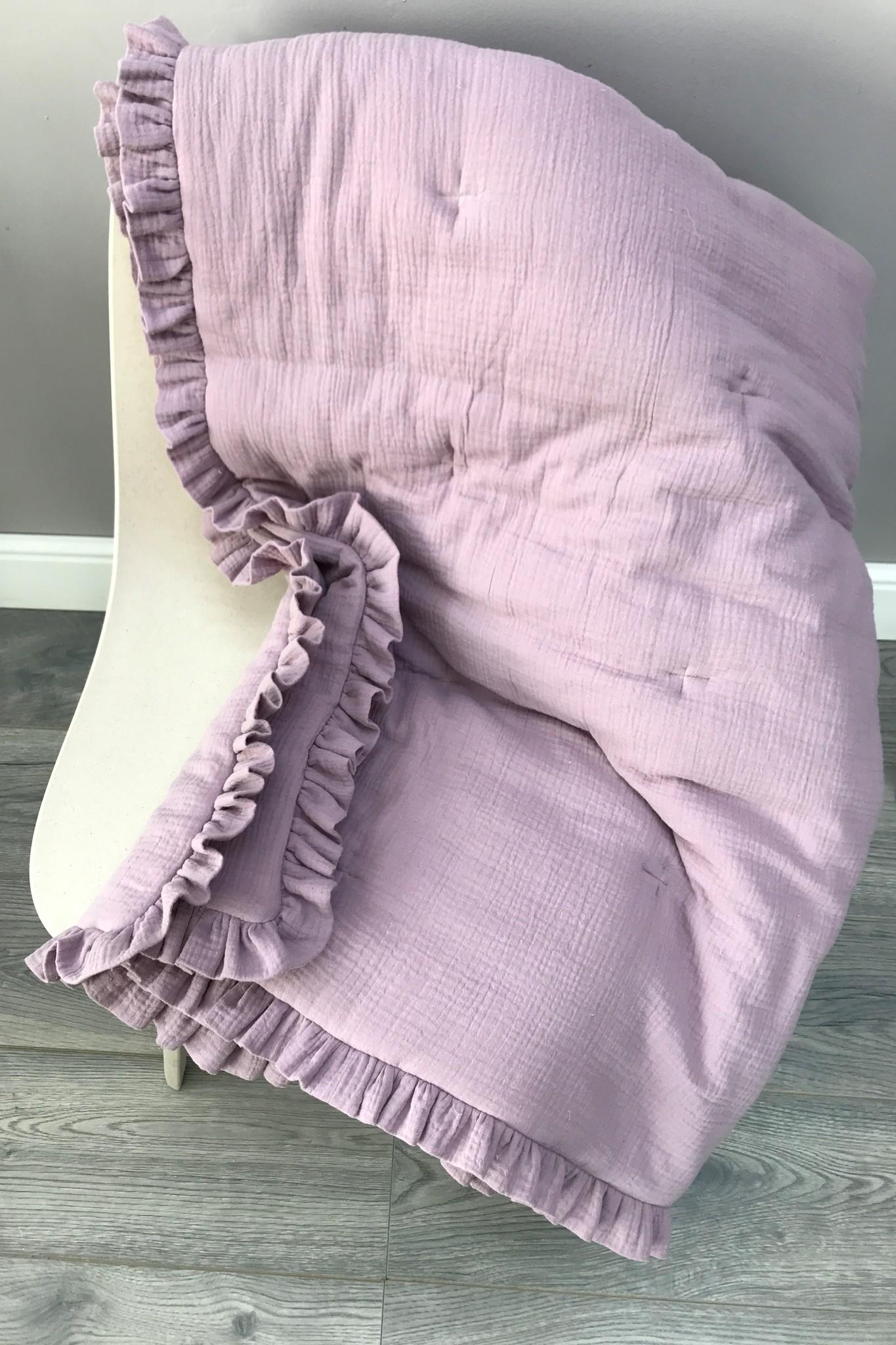 Теплые муслиновые одеяла