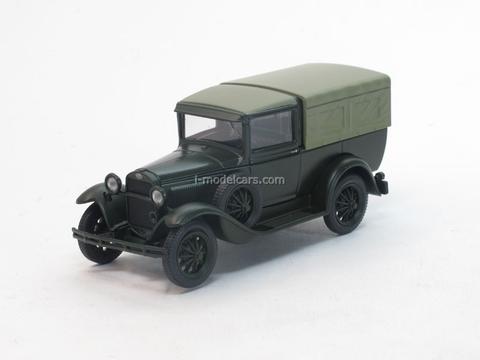 GAZ-4 with awning green 1:43 Nash Avtoprom