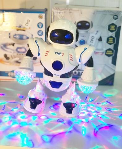 Танцующий робот со светом и звуком