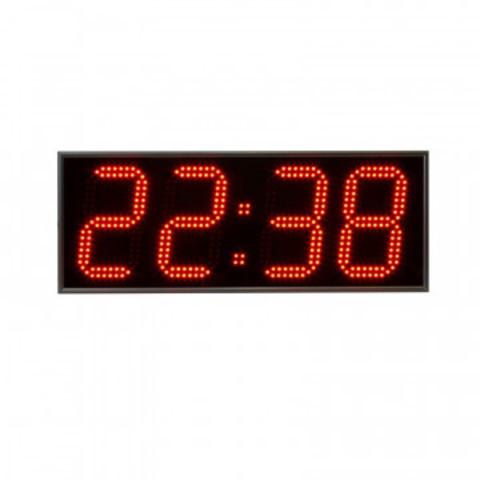 Часы электронные 418-R, цвет свечения красный 0,5Кд, 600x230x75мм