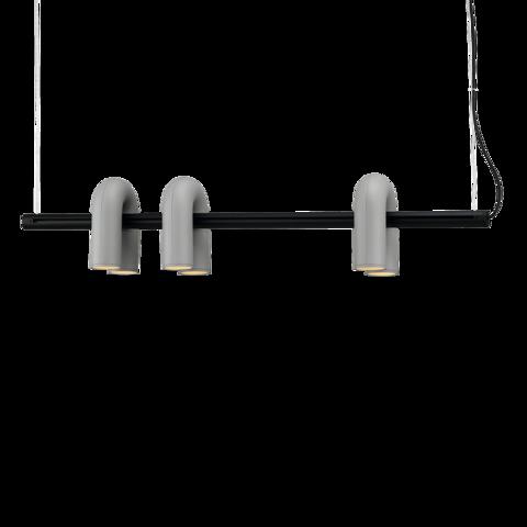 Подвесной светильник-трек Cirkus by AGO Lighting (серый)