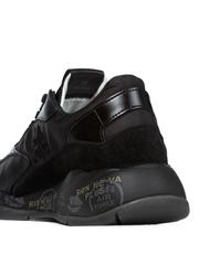Комбинированные кроссовки Premiata Scarlett 4848 на шнуровке