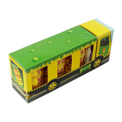Кислые леденцы Toxic Waste Yellow в подарочной упаковке 126 гр