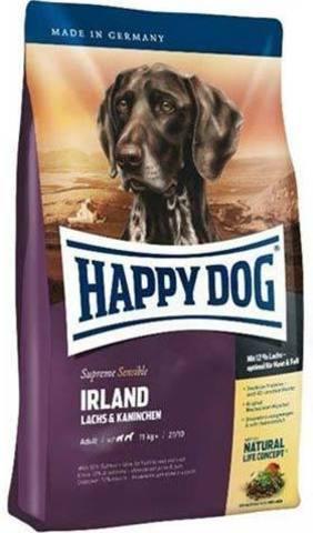 12,5 кг. HAPPY DOG - Сухой корм для собак всех пород с лососем и кроликом - Supreme Sensible Nutrition Irland