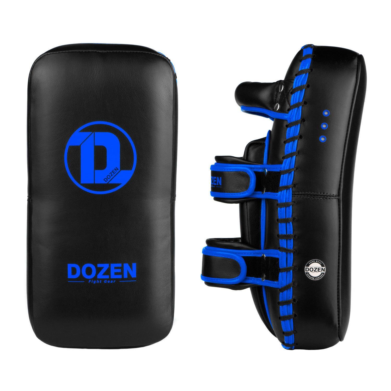 Пады Dozen Monochrome черно-синие боковой и фронтальный вид