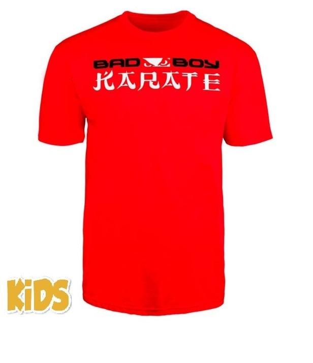 Детские футболки Футболка детская Bad Boy Karate Discipline Youth T-shirt Red 1.jpg