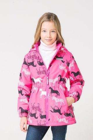 Crockid (Крокид) куртка демисезонная утепленная для девочки