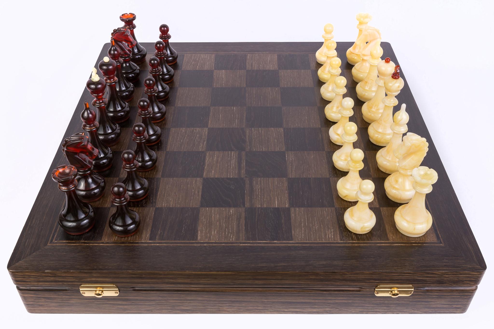 купить янтарные шахматы