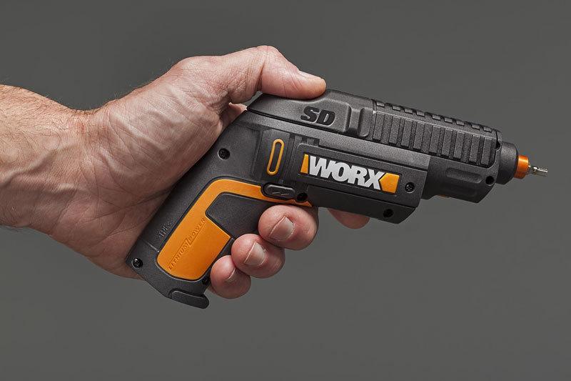 Отвертка аккумуляторная WORX WX254.4 SD Slide Driver 4В