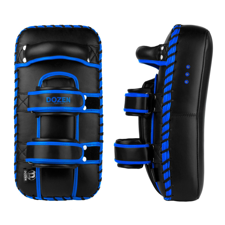 Пады Dozen Monochrome черно-синие задний и боковой вид