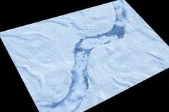Игровое покрытие Iced Earth 120x180 см